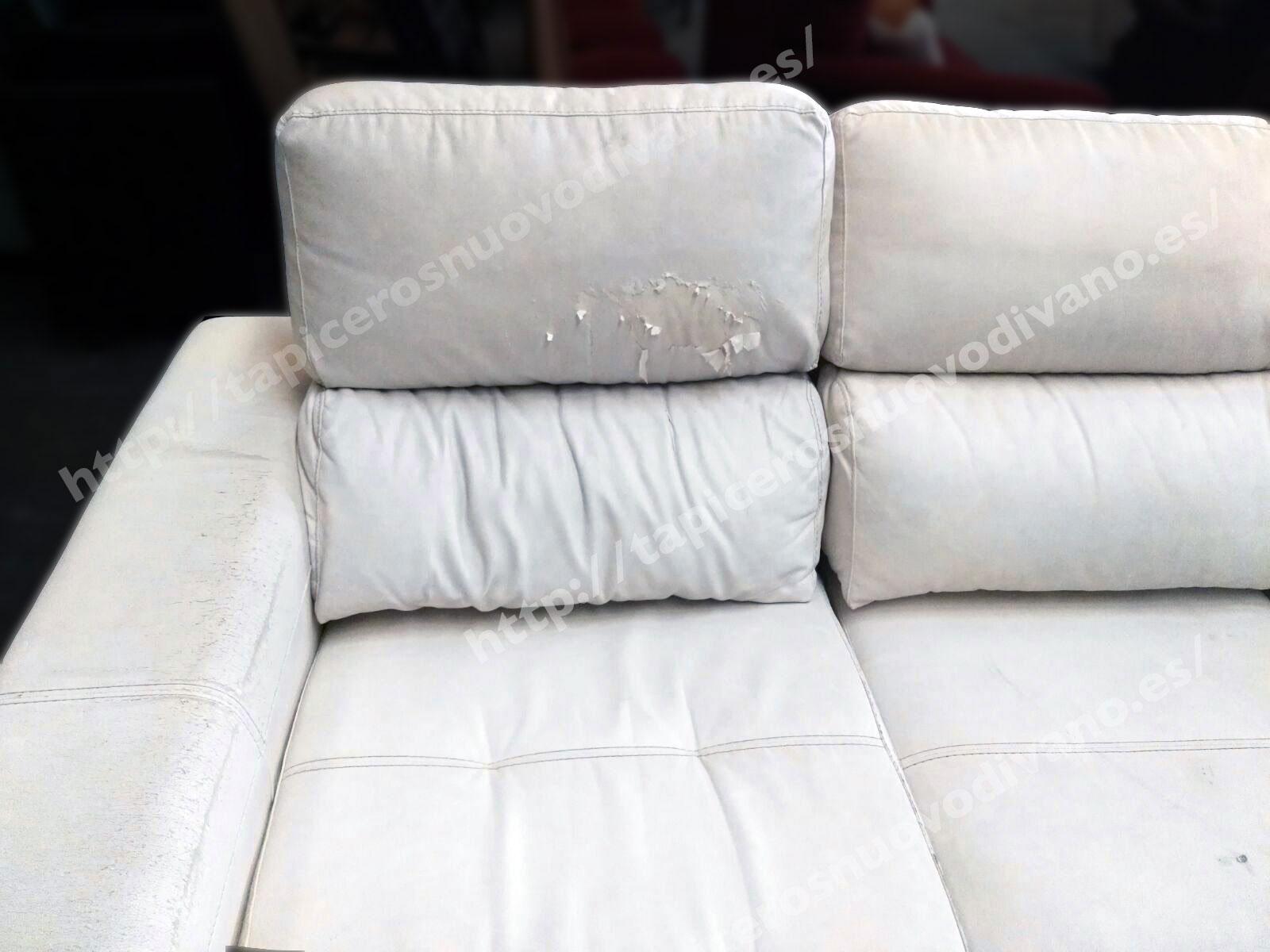 Restauraci n de muebles nuovo divano for Sofas en u precios